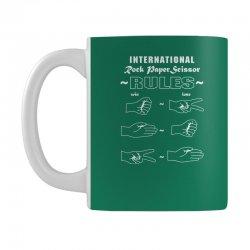 rock paper scissor international Mug | Artistshot