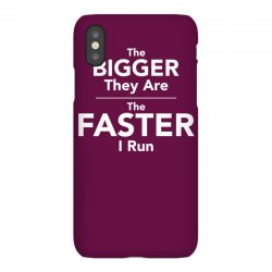 the bigger they are the faster iPhoneX Case | Artistshot
