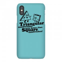 triangular sandwiches iPhoneX Case   Artistshot
