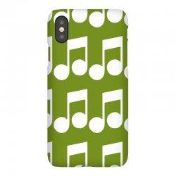 music note iPhoneX Case | Artistshot
