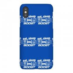 eat sleep boost iPhoneX Case | Artistshot
