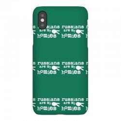 russians are my homies iPhoneX Case | Artistshot