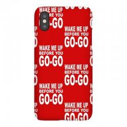 wake me up before you go go iPhoneX Case | Artistshot