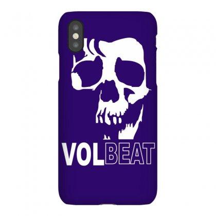 Volbeat Danish Rock Band Cool Skull Iphonex Case Designed By Mdk Art