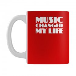music changed my life Mug | Artistshot