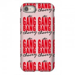the gang bang theory iPhone 8 Case | Artistshot