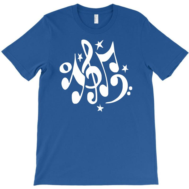 Music Notes#4 Rock Design Graphic Band T-shirt | Artistshot