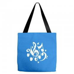 music notes#4 rock design graphic band Tote Bags | Artistshot