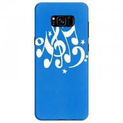 music notes#4 rock design graphic band Samsung Galaxy S8 Case | Artistshot