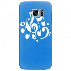 music notes#4 rock design graphic band Samsung Galaxy S7 Edge Case | Artistshot