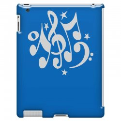 music notes#4 rock design graphic band iPad 3 and 4 Case | Artistshot