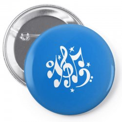 music notes#4 rock design graphic band Pin-back button | Artistshot