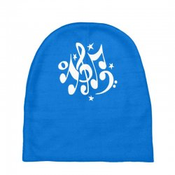 music notes#4 rock design graphic band Baby Beanies | Artistshot