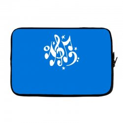 music notes#4 rock design graphic band Laptop sleeve | Artistshot