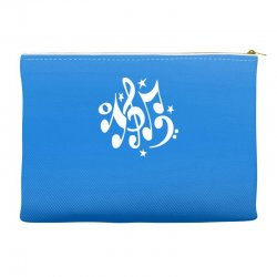 music notes#4 rock design graphic band Accessory Pouches | Artistshot