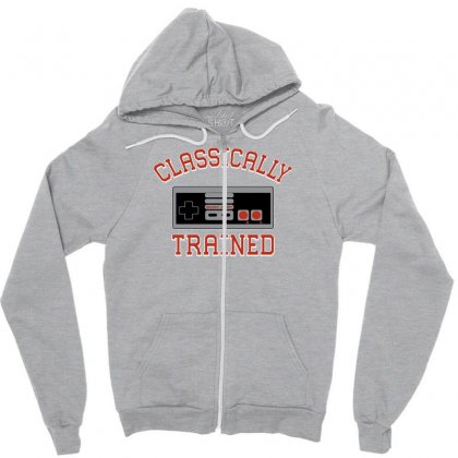 Classically-trained New Zipper Hoodie Designed By Eugene