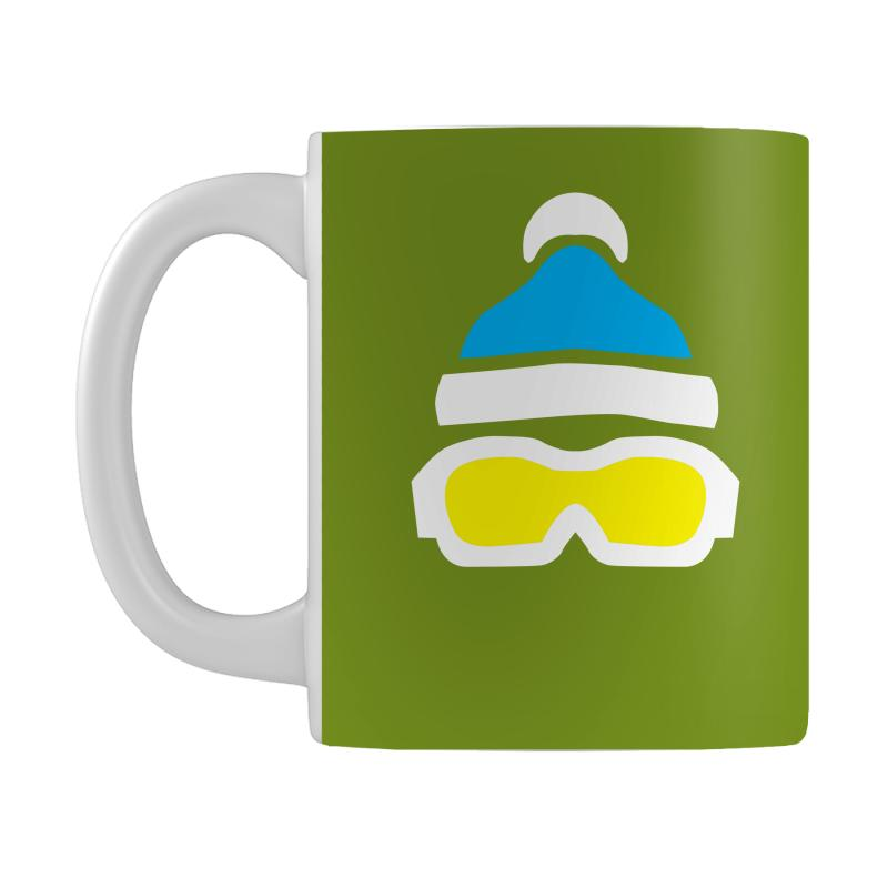 a86293196a5ce Custom Ski Goggles   Bobble Hat Mug By Sayasiti - Artistshot