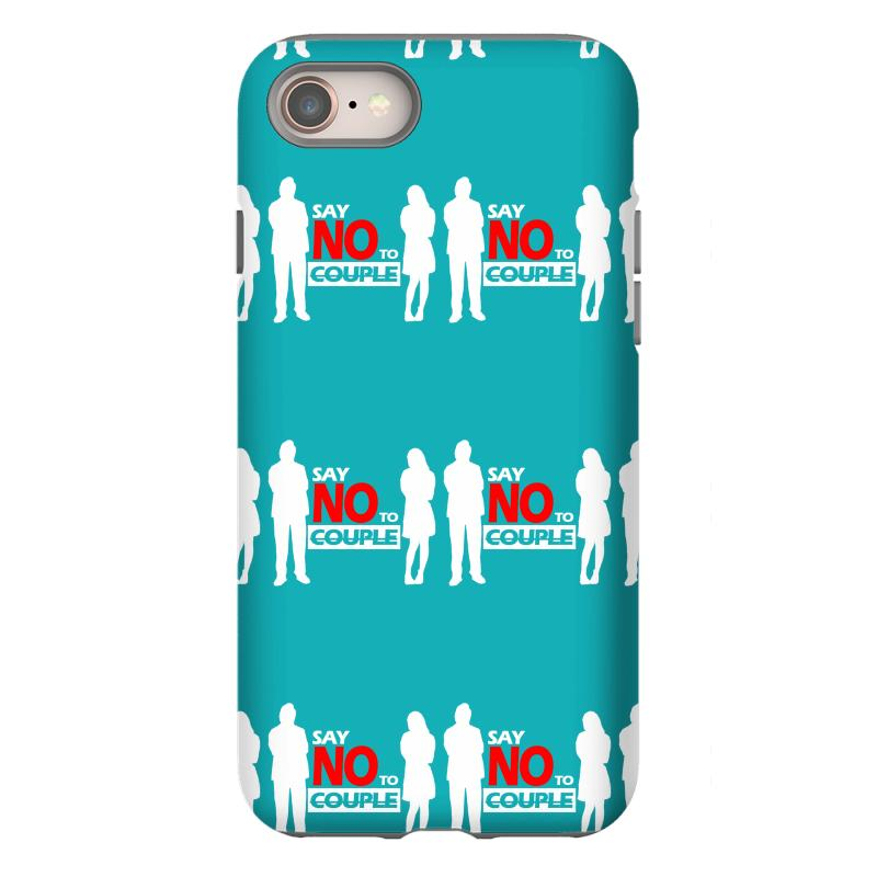 ceeac6d4e2 Custom Say No To Couple Iphone 8 Case By Chilistore - Artistshot