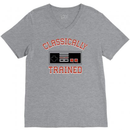 Classically-trained New V-neck Tee Designed By Eugene
