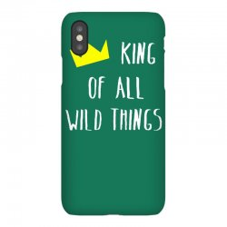 king of all wild things iPhoneX Case | Artistshot