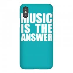 music is the answer iPhoneX Case | Artistshot
