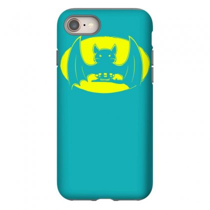 Bat Moon Iphone 8 Case Designed By Specstore