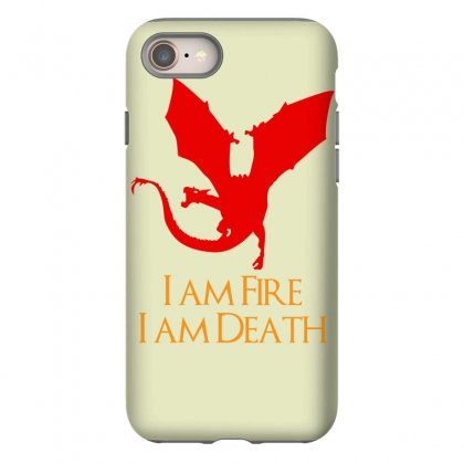 I Am Fire I Am Death Iphone 8 Case Designed By Specstore