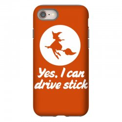 yes, i can drive stick iPhone 8 Case | Artistshot