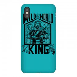 Wild World King iPhoneX Case | Artistshot