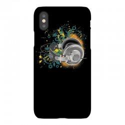 Music Animated Headphones Tshirt iPhoneX Case | Artistshot