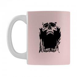Screaming skull Mug   Artistshot