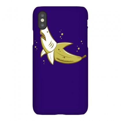 Banana Shark Iphonex Case Designed By Mdk Art