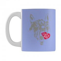 screaming wolf love you Mug | Artistshot