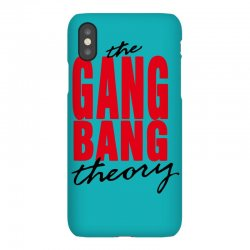 the gang bang theory iPhoneX Case | Artistshot