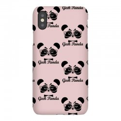 Geek Panda iPhoneX Case | Artistshot