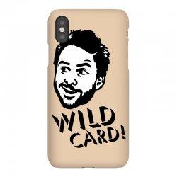 wild card iPhoneX Case | Artistshot
