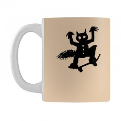 wild thing on a skateboard Mug | Artistshot