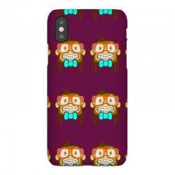 geek monkey iPhoneX Case | Artistshot