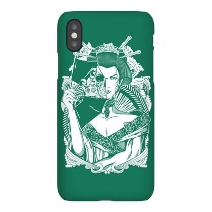 Half Dead Geisha Iphonex Case Designed By Specstore