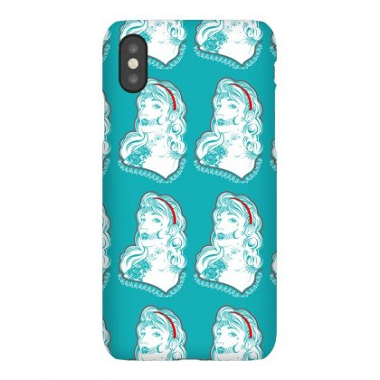Sugar Skull Women White Iphonex Case Designed By Specstore