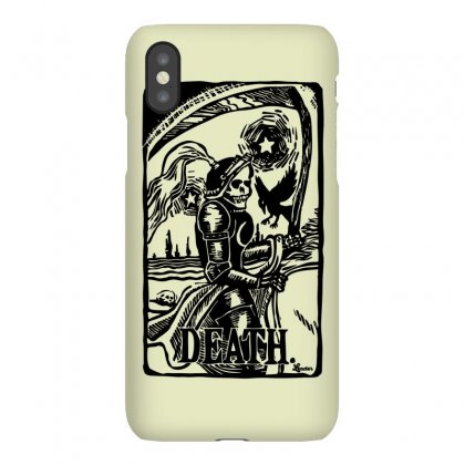 Tarot Death Card Iphonex Case Designed By Specstore