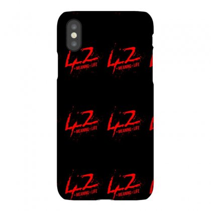 42 The Meaning Life Iphonex Case Designed By Specstore
