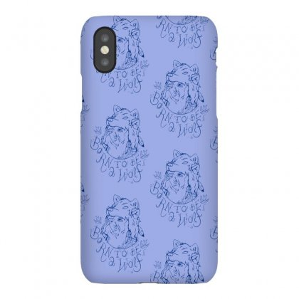 Born To Be A Wolf Iphonex Case Designed By Specstore