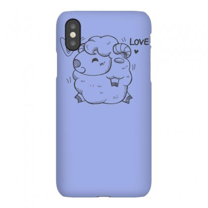 Happy Love And Life Sheep Iphonex Case Designed By Specstore