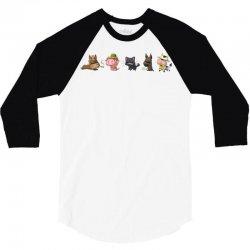 psycho animals 3/4 Sleeve Shirt | Artistshot