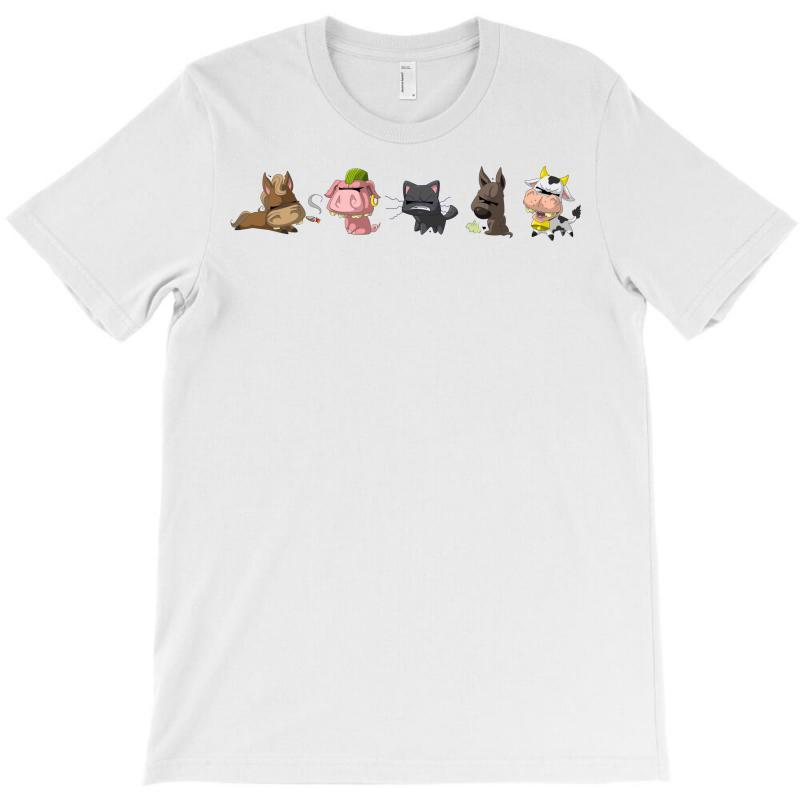 Psycho Animals T-shirt | Artistshot