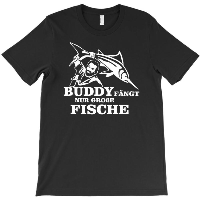 f2b0585955e9 Custom Buddy Fängt Nur Große Fische Funny T-shirt By Syarip - Artistshot