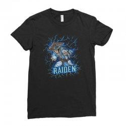 raiden Ladies Fitted T-Shirt | Artistshot