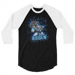 raiden 3/4 Sleeve Shirt | Artistshot