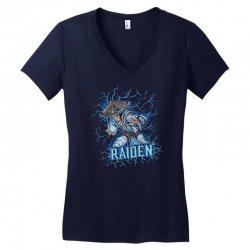 raiden Women's V-Neck T-Shirt | Artistshot
